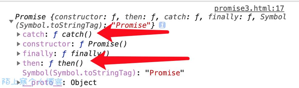 《javascript异步之Promise then和catch》