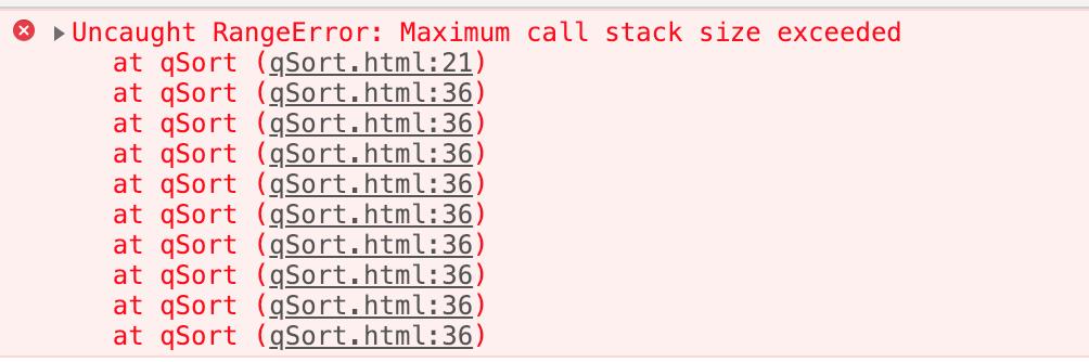 《javascript高级排序算法之快速排序(快排)》